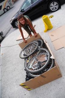 Räder einpacken und nach Hause fahren
