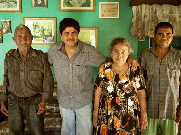 Ein Willkommensgruß in Honduras