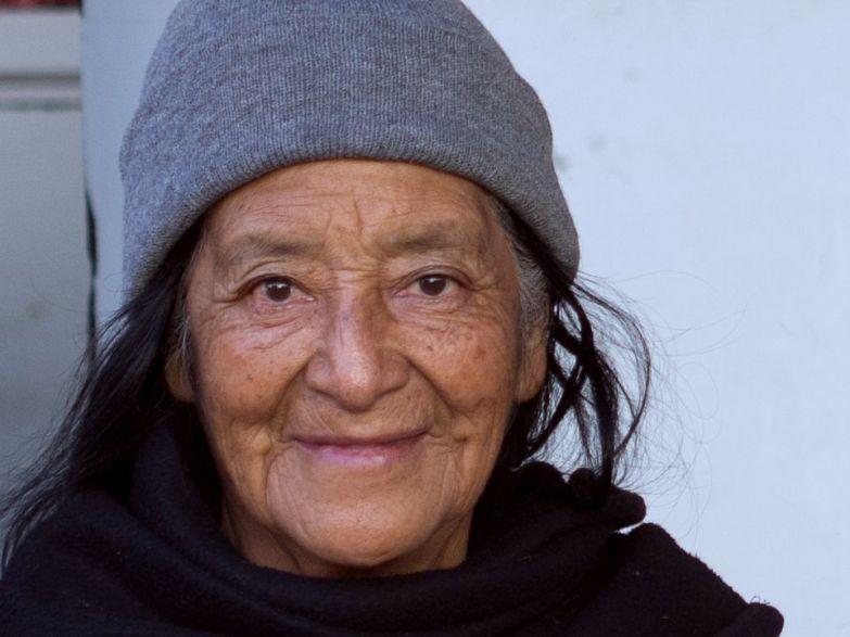 Wunderschöne Frau in Santa Cruz del Quiche