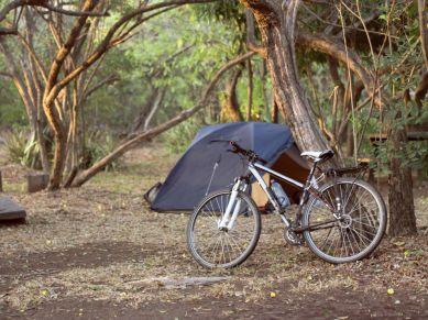 Camping im Nationalpark Masaya
