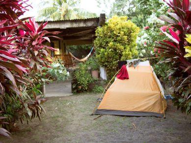 Camping Vulkaninsel Ometepe