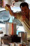 Teeverkäufer in Mumbai