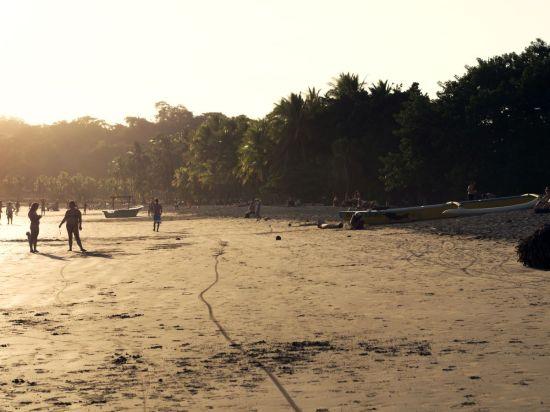 Beach Riding auf Playa Samara