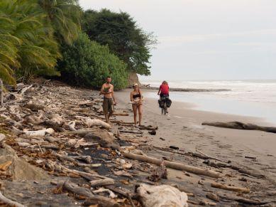 Beachriding auf Playa Manzanillo