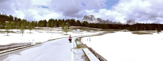Passo Sella d Razo 1760m