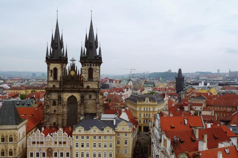 Die historische Stadt Prag