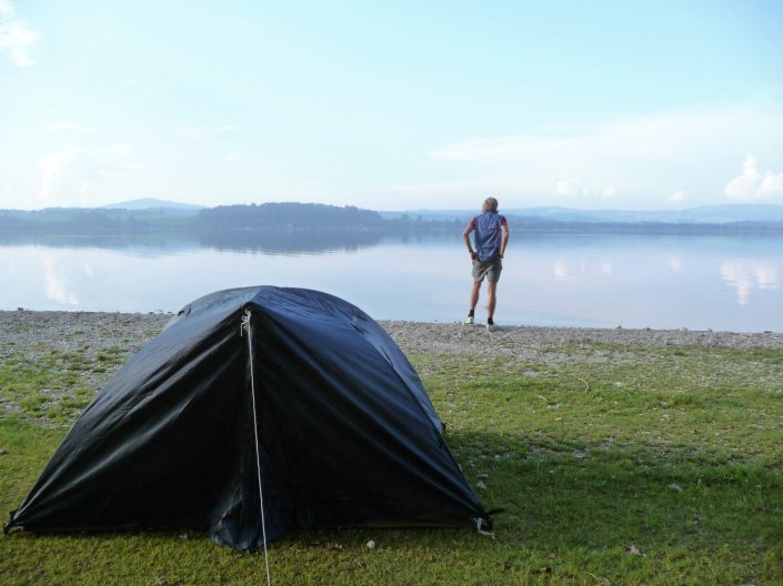 Camping am Wallersee