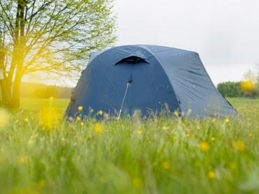 Campen am Bauernhof
