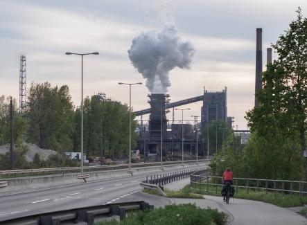 Fabricksschlote in Linz