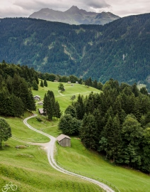 Der Weg zum Dalaas