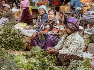 In Myanmar trifft man nur an freundliche menschen an. In Mandala