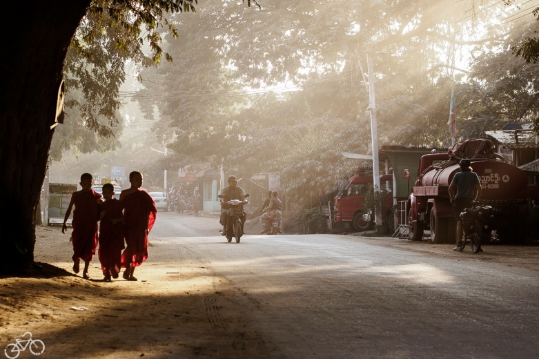 Ankunft in Bagan