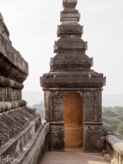 Ein Tempel in Bagan