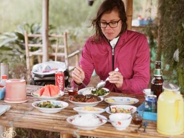 Abendessen im Restaurant in Ton Le