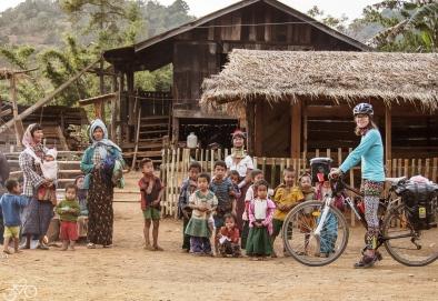 in den Dörfer Pam Pae