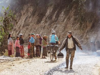 Im gebirge zwischen Loikaw und Toungoo