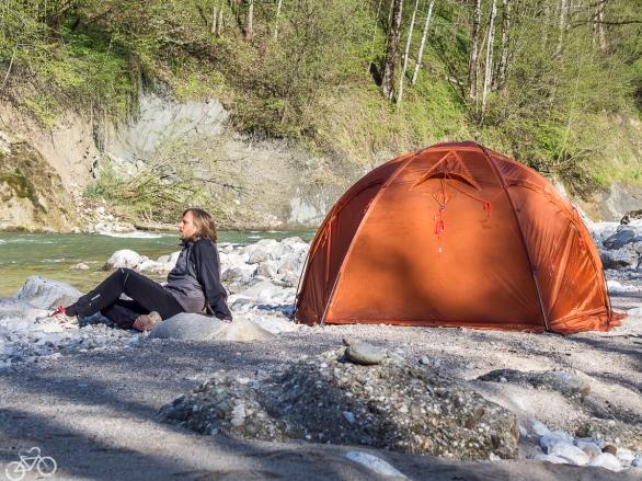 Campieren beim Enns