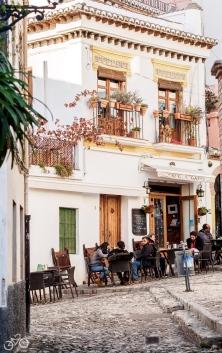 In den Gassen von Granada. / V uličkách Granady.