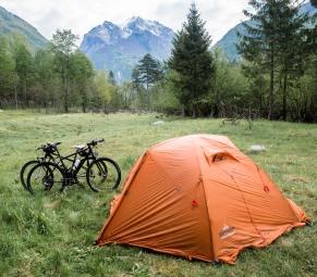 Camping beim Bovec