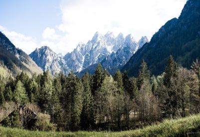 Im Tal von Torrente Aupa