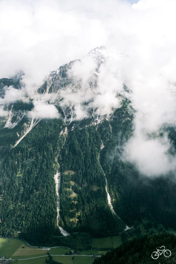 Aufstieg zur Innsbrucker Hütte