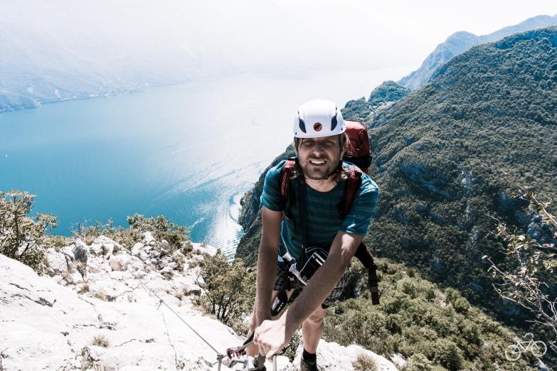 Klettersteig zu C. Rocca