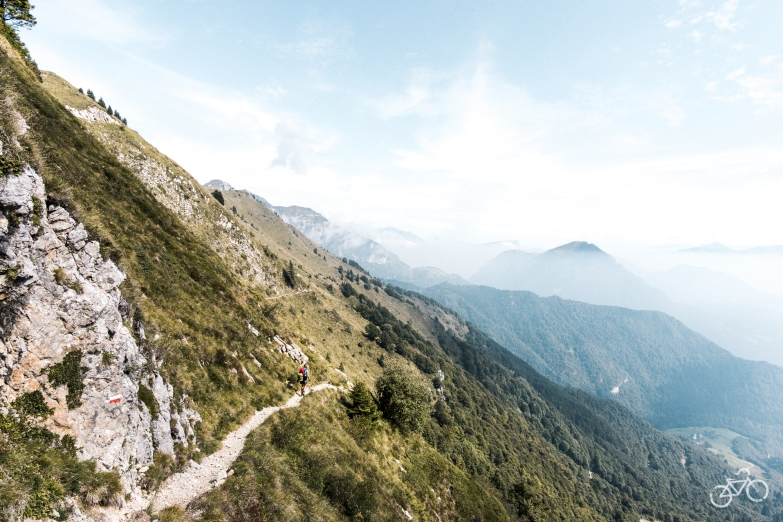 Weg zu Rifugio Nino Pernici