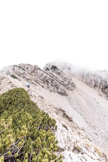 über den Monte Baldo 2.218m