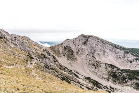 Ausblick von Rifugio Telegrafo 2.200m